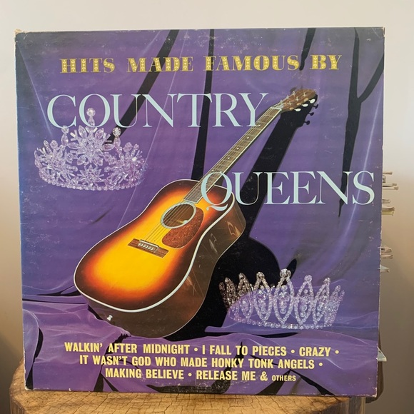 VINTAGE /Record/Hits made famous by Country Queens